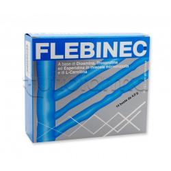 Flebinec Integratore Alimentare Tono Venoso Drenaggio Linfatico 14 Bustine