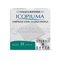 Garza Compressa Idrofila Icopiuma 10x10cm 25 Pezzi