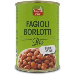 Fagioli Borlotti Bio Pronti all'Uso