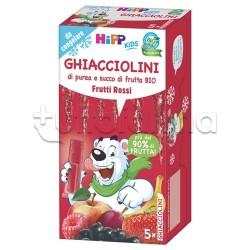 Hipp Ghiacciolini Biologici ai Frutti Rossi 5 Pezzi