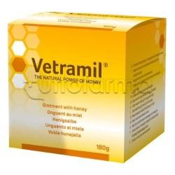 Vetramil Unguento al Miele Veterinario per Cicatrizzazione di Animali Domestici 180g