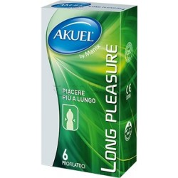 Akuel By Manix Long Pleasure 6 Profilattici Ritardanti