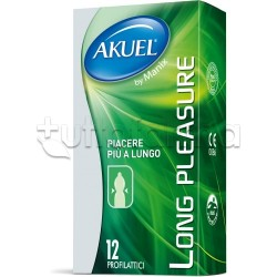 Akuel By Manix Long Pleasure 12 Profilattici Ritardanti