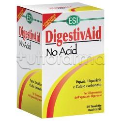 Esi Digestivaid No Acid 12 Tavolette per Acidità di Stomaco