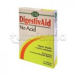 Esi Digestivaid No Acid 60 Tavolette per Acidità di Stomaco
