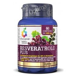 Colours of Life Resveratrolo Plus Integratore per Microcircolo 60 Compresse