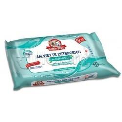 Elanco Sano e Bello Salviette Detergenti al Muschio Bianco 50 Salviette