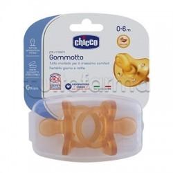 Chicco Physioforma Gommotto Ciuccio in Caucciù 0-6 Mesi 2 Pezzi