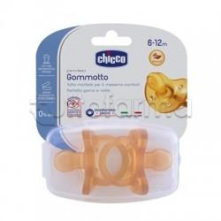 Chicco Physioforma Gommotto Ciuccio in Caucciù 6-16 Mesi 2 Pezzi
