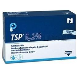 TSP 0.2% Soluzione Oftalmica Lubrificante 30 Flaconcini Monodose