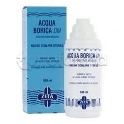 Zeta Farmaceutici Acqua Borica Per Bagno Oculare Sterile 500ml