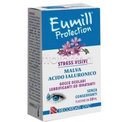 Recordati Eumill Protection Stress Visivi Gocce Oculari Lubrificanti ed Idratanti 10ml