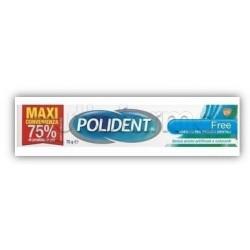 Polident Free Crema Adesiva per Dentiere Formato Convenienza 70g