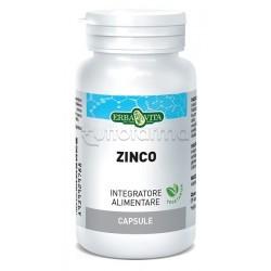 Erbavita Zinco Integratore per il Sistema Immunitario 60 Capsule