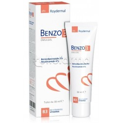 Benzo 3 Emulgel Antinfiammatorio per Pelle Acneica 30ml
