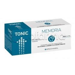 Specchiasol Tonic Memoria Integratore per Memoria 12 Flaconcini