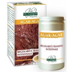 Dr Giorgini Agar-Agar Integratore per Intestino 100g Polvere