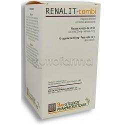 Renalit Combi Integratore per Vie Urinarie Sciroppo 120ml e 12 Compresse