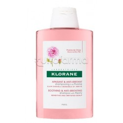 Klorane Shampoo alla Peonia per Cute Irritata Flacone 200ml