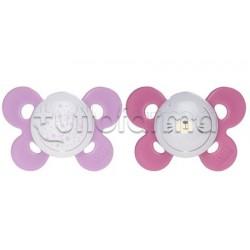 Chicco Physioforma Comfort Lumi Ciuccio in Silicone Luminoso Bimba 16-36 Mesi 2 Pezzi