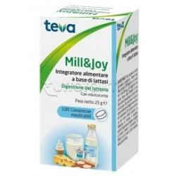 Teva Mill&Joy Integratore per Digestione Lattosio 100 Compresse Masticabili