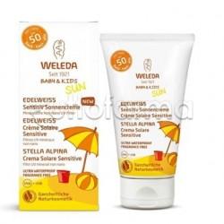 Weleda Baby Crema Solare Sensitive per Bambini SPF50 50ml
