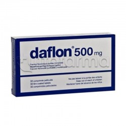 Daflon 500 30 Compresse 500 Mg