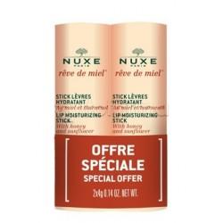 Nuxe Reve De Miel Duo Stick Labbra Idratante 2x4g
