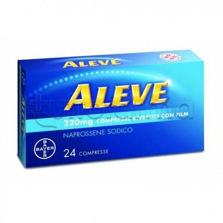 Aleve 24 Compresse 220 Mg Antinfiammatorio ed Antidolorifico