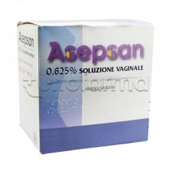 Asepsan Soluzione Vaginale 5 Flaconi 0,625% + 5 Cannule