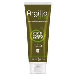Erba Vita Argilla Verde Maschera per Viso e Corpo 250ml