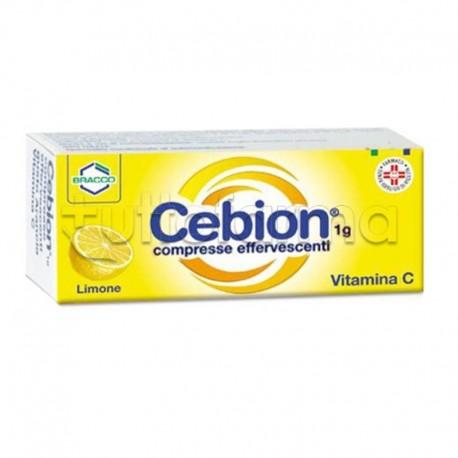 Cebion 10 Compresse Effervescenti Limone Vitamina C