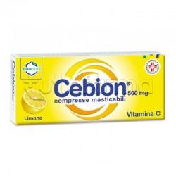Cebion 500 mg 20 Compresse Masticabili Limone Vitamina C