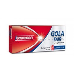 Iodosan Golafair 20 Pastiglie Menta per Mal di Gola
