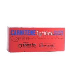 Carnitene Soluzione Orale 10 flaconcini 1 gr Monodose