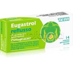 Eugastrol Reflusso 14 Compresse 20 Mg Gastroprotettore per Acidità di Stomaco e Reflusso