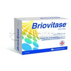 Briovitase 20 Bustine 450 mg + 450 mg Magnesio e Potassio