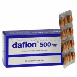 Daflon 500 60 Compresse 500mg per Gambe Gonfie e Emorroidi