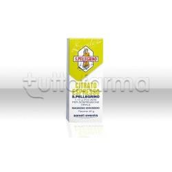 Citrato Espresso S. Pellegrino Flacone 40 gr per Stitichezza