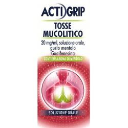 Actigrip Tosse Mucolitico per Tosse e Catarro Flacone 150 ml