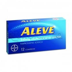 Aleve 12 Compresse 220 mg Antinfiammatorio ed Antidolorifico