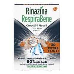 Rinazina RespiraBene Cerotti Nasali Extra Forti per Adulti 30 Pezzi