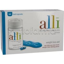 Alli Farmaco per Perdita di Peso 84 Capsule 60 mg