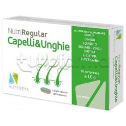 Nutriregular Capelli & Unghie Integratore 30 Compresse