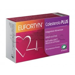 Eufortyn Colesterolo Plus Integratore per Colesterolo 30 Compresse
