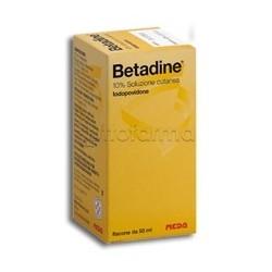 Betadine 10% 125ml Soluzione Cutanea Disinfettante
