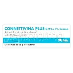 Connettivina Plus Crema per Piaghe e Ulcere 25g