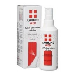 Amukine Med Spray Cutaneo Disinfettante 200 ml 0,05%