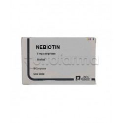 Nebiotin Biotina 5mg 30 Compresse per Carenza di Biotina