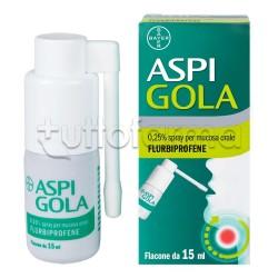 Aspi Gola 0,25% Spray per Mucosa Orale 15ml